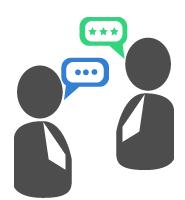 スタッフによる通訳サポートで、仕事を理解!